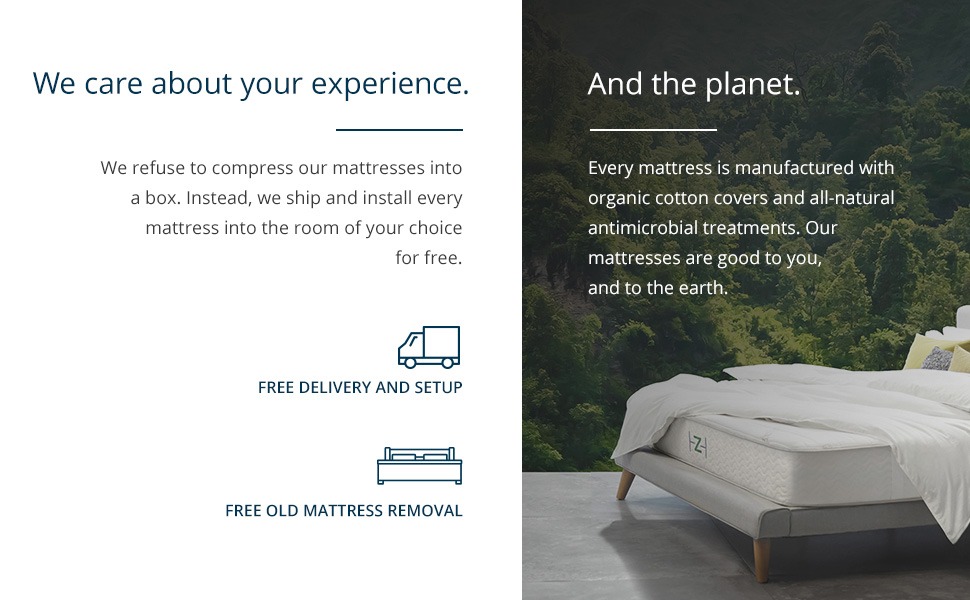 the saatva company, saatva, mattress, mattresses, care, planet