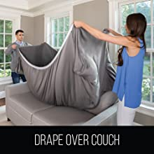 drape over couch