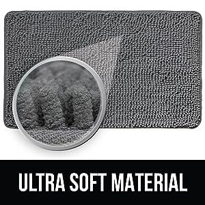 ultra soft shag material rug image