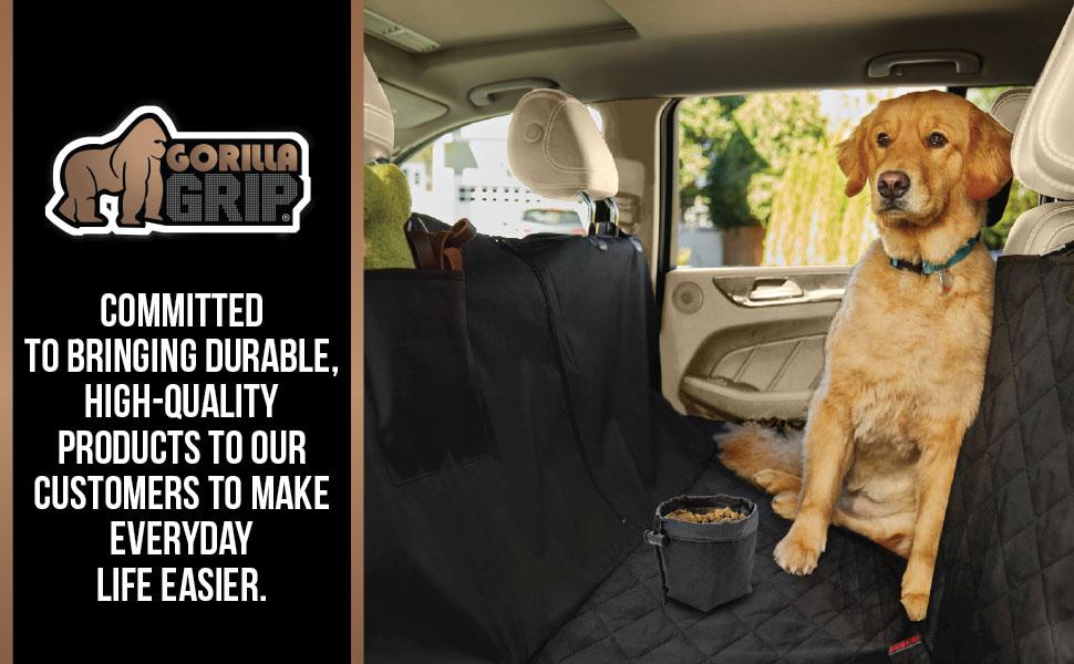 gorilla grip brands brand pet pets protector premium hammock car seat cover resists scratches drool