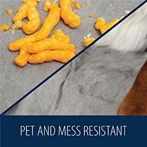 mess resistant