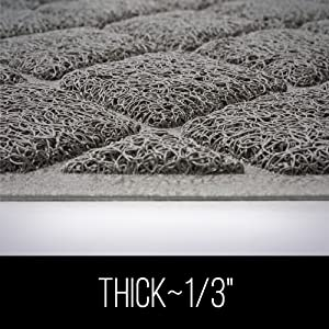 """thick 1/3"""" material"""