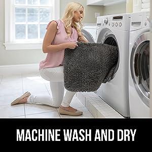 machine wash and dry