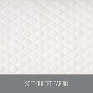 ultra soft quilted fabric for maximum comfort