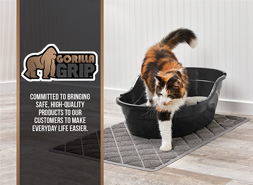 Gorilla Grip Original XL Cat Litter Mat