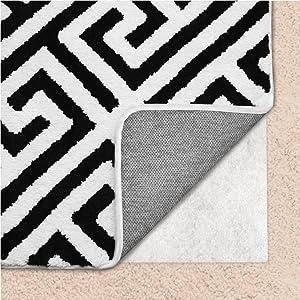 Amazoncom Gorilla Grip Original Area Rug Gripper Pad For Carpeted