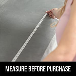 measure before purchase