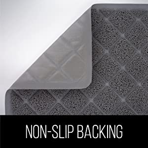 non slip and durable backing