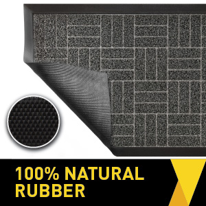 100% natural rubber