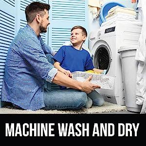 machine wash and dry rug image