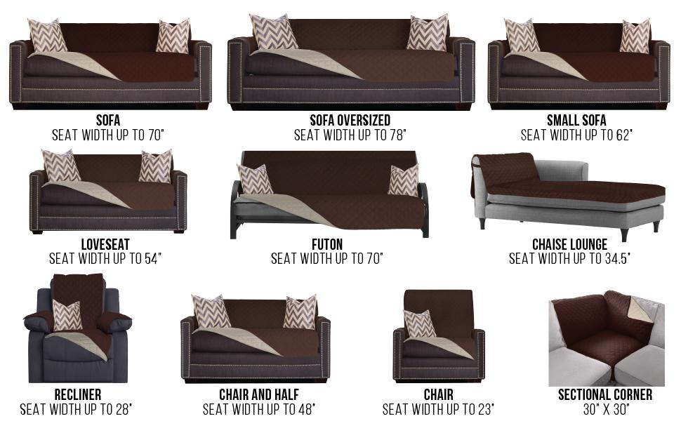 Amazon.com: Sofa Shield Original Patent Pending Reversible ...
