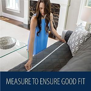 measure to ensure good fit