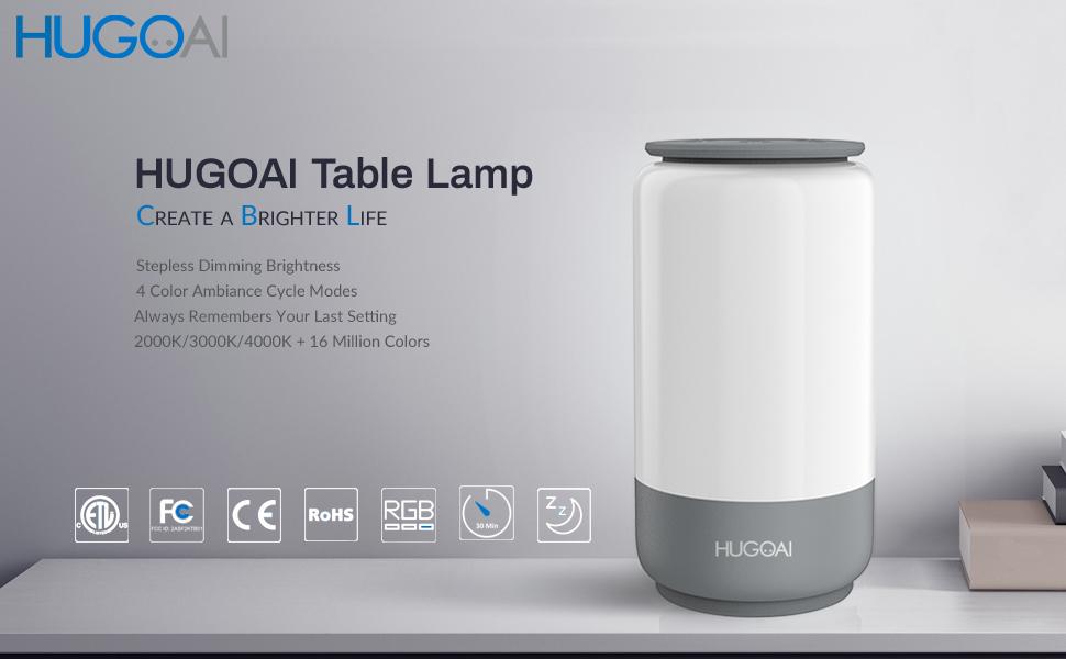 HUGOAI Table Lamp