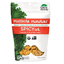 spicy organic cracker snack gluten-free dairy-free vegan