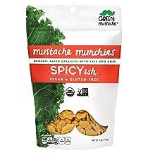 spicy organic cracker snack gluten-free dairy-free vegan