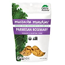parmesan rosemary organic snack cracker gluten-free dairy-free vegan