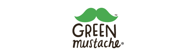 green mustache logo