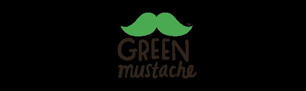 green mustache logo
