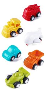 6 Pack City Traffic Little Cars
