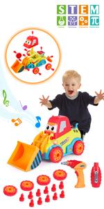 Take Apart Car Construction STEM Toys