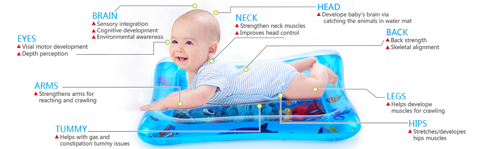 BABY TUMMY TIME WATER MAT