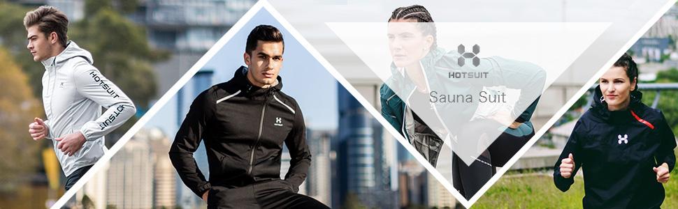 b006c0c34e Amazon.com   HOTSUIT Sauna Suit Men Weight Loss Gym Suit Workout ...