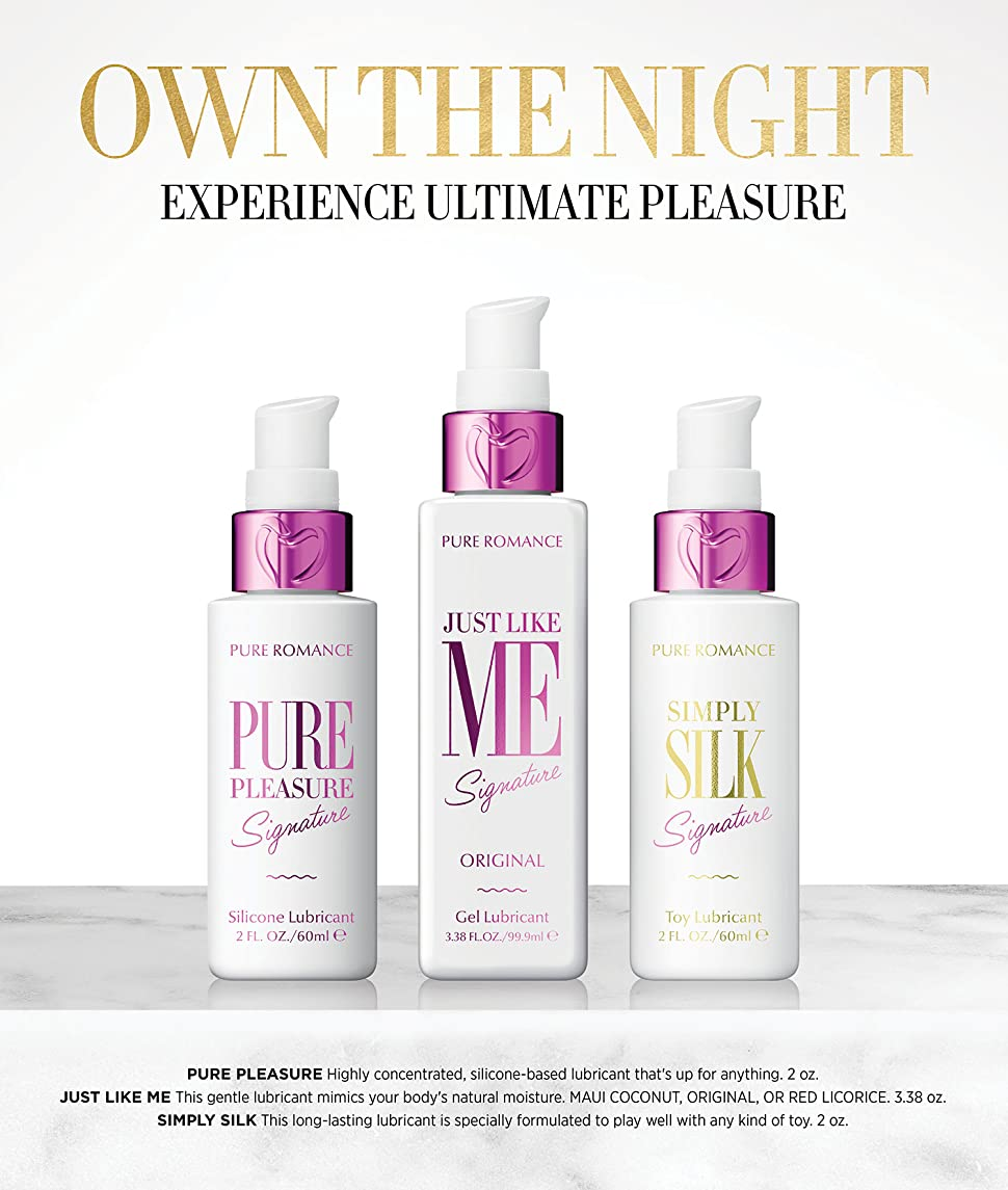 Toys For Romance : Amazon pure pleasure silicone lubricant by