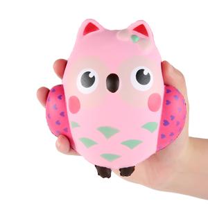 Squishy Wish : Amazon.com: Aolige Jumbo Squishy Kawaii Cute Owl Cream Scented Squishies Slow Rising ...