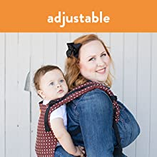 Baby Tula Adjustable Baby Carrier for Petite to Plus-Sized Moms