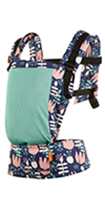 baby tula coast free-to-grow mesh baby carrier adjustable newborn to toddler front and back carry