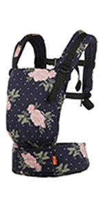 baby tula free-to-grow baby carrier adjustable newborn to toddler front and back carry