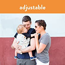 Baby Tula Adjustable Baby Carrier for Petite to Plus-Sized Parents