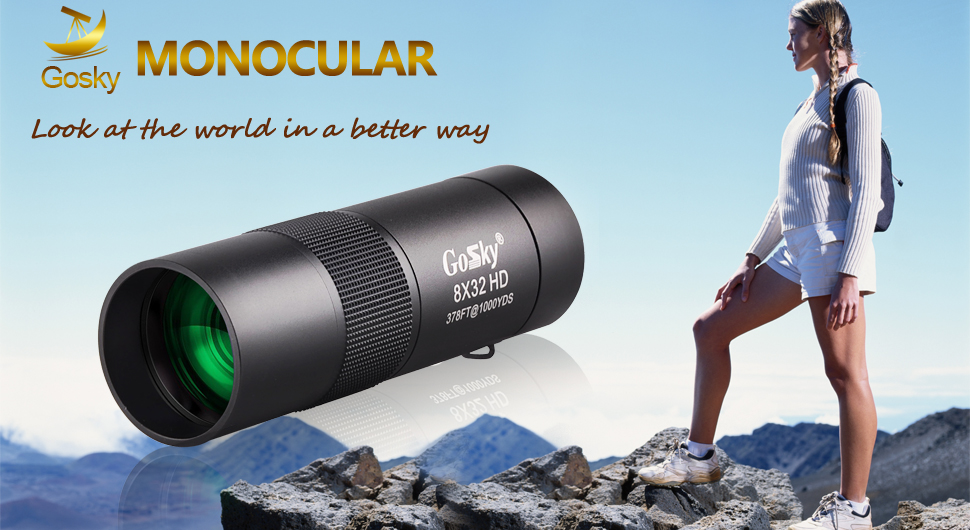 Amazon gosky metal monocular telescope hd compact