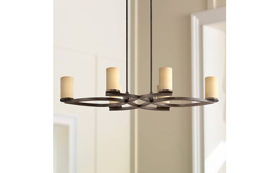Amazon.com: fairport Mediterráneo Bronce 6-Light Isla ...