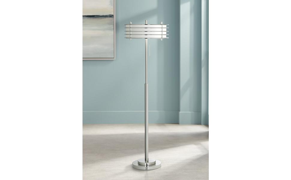 Possini Euro Design Retro Light Blaster Floor Lamp Amazoncom