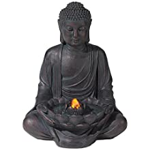 Amazon Com John Timberland Zen Buddha Outdoor Water