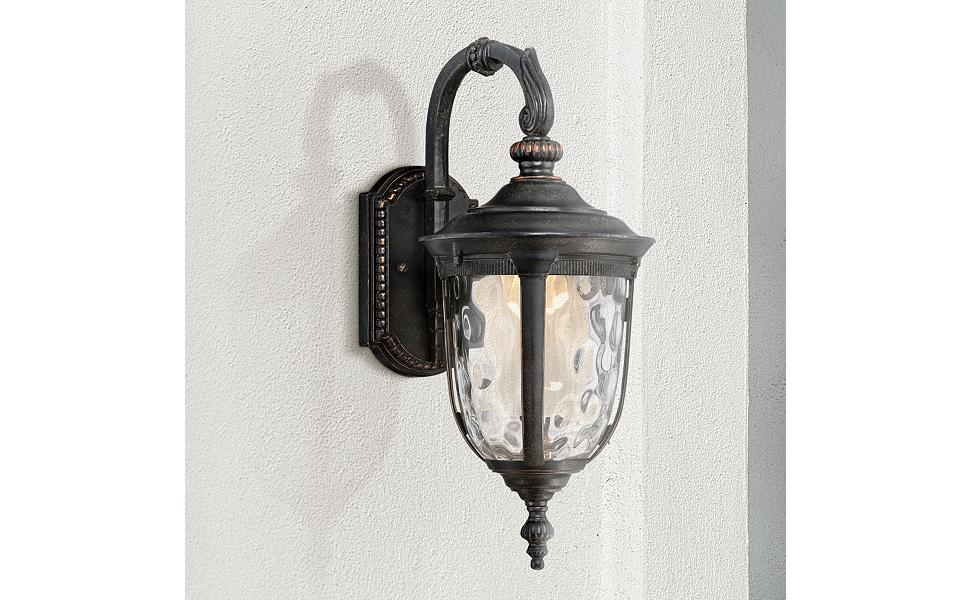 led outdoor wall lights small bellagio 16 12