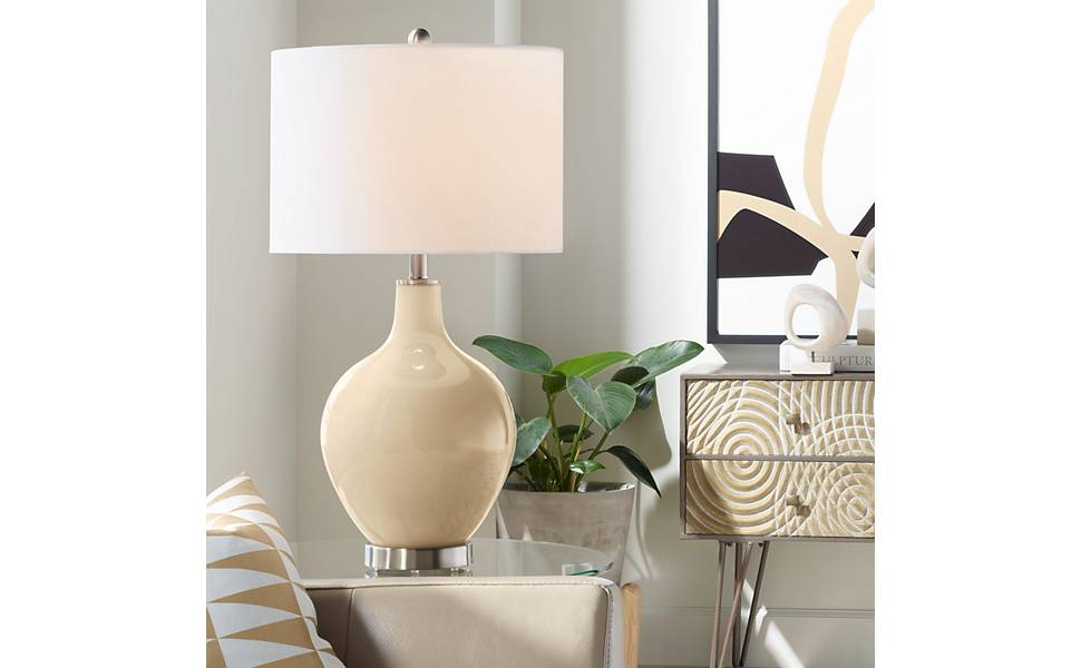 Amazon.com: Colonial Tan OVO Table Lamp - Color + Plus: Home ...