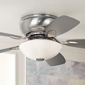 44 casa habitat brushed steel hugger ceiling fan amazon this casa habitat ceiling fan is a hugger style low profile ceiling fan perfect for use in small rooms or rooms with low ceilings mozeypictures Choice Image