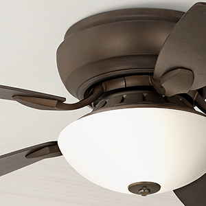 44 Quot Casa Habitat Oil Rubbed Bronze Hugger Ceiling Fan
