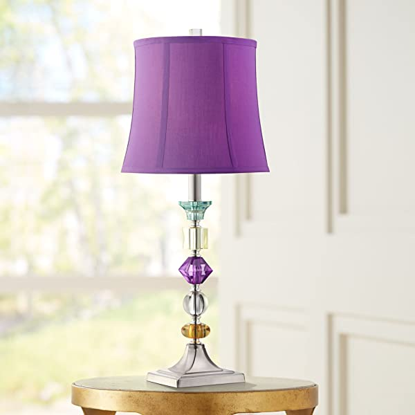 Purple Table Lamp Custom Purple Bijoux Table Lamp Lamps For Bedrooms Amazon