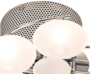 Possini Euro Lilypad Etched 30 Quot Wide Ceiling Light Fixture