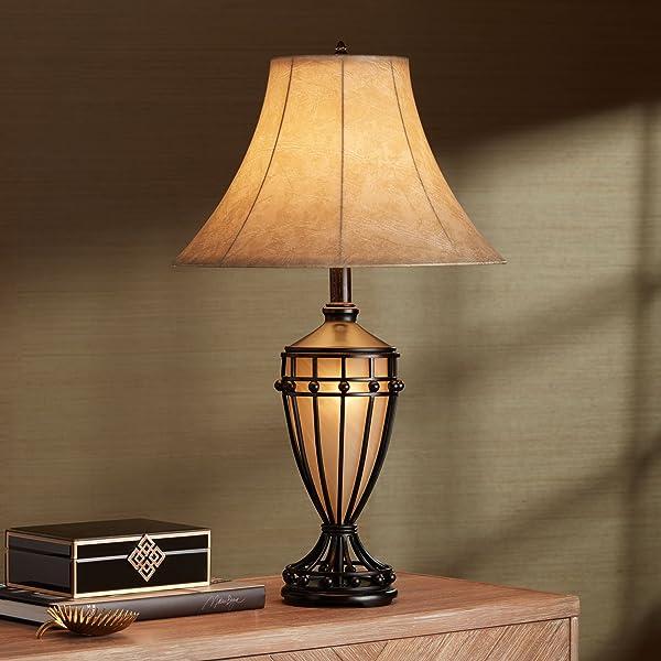 Cardiff Iron Night Light Urn Table Lamp Amazon Com