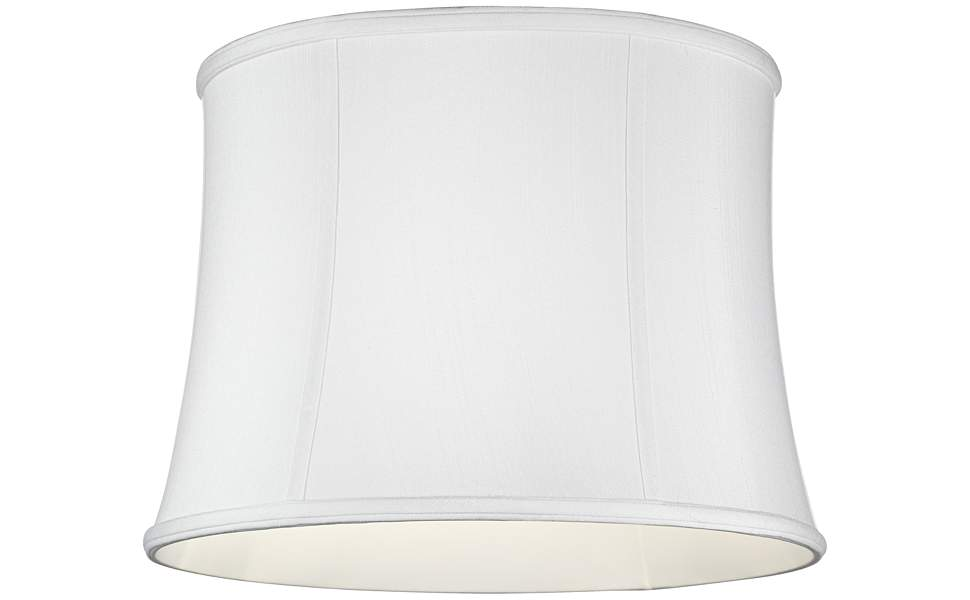 Imperial Collection White Drum Lamp Shade 14x16x12 Spider Imperial Shade Amazon Com