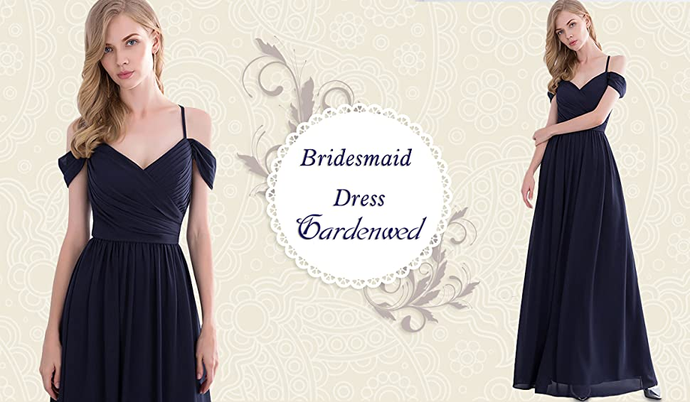 Gardenwed Gorgeous Off The Shoulder Long Prom Dress