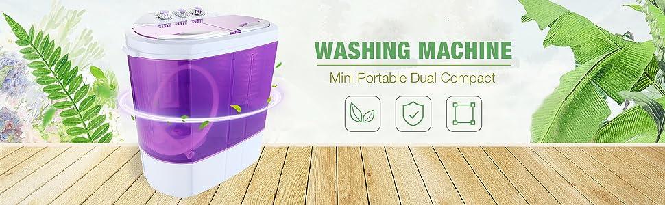 Amazon Kuppet Mini Portable Washing Machine Compact Durable