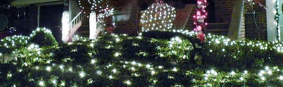 Christmas solar lights ! - Solar String Lights, Solarmks Outdoor String Lights 72ft 8 Modes 200