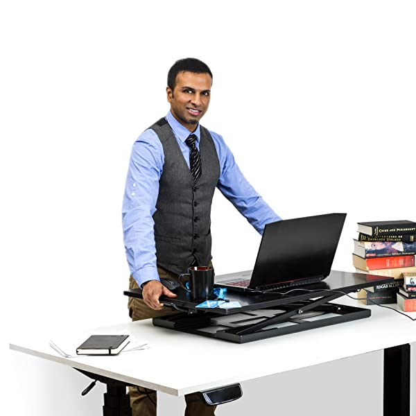 Amazon Com Standing Desk With Anti Fatigue Mat Height