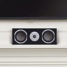 Story Home Speaker on Fireplace Mantel