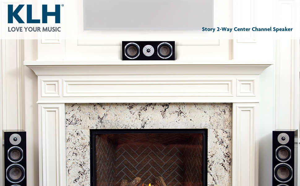 KLH Audio Story 2-Way Center Channel Speaker